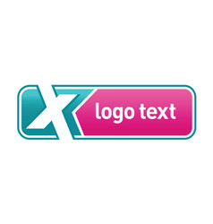 letter x logo icon design vector image