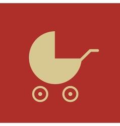 Maternity flat icon vector