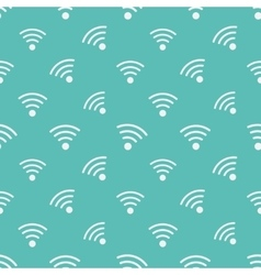 Wifi icons pattern vector