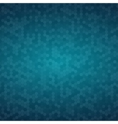 Blue Mosaic Tile Honeycomb Background vector image vector image