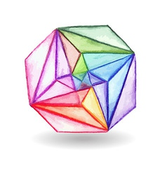 Geometric design element vector