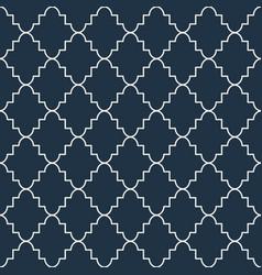 Quatrefoil seamless pattern vector