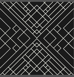 Grid black background - seamless pattern vector