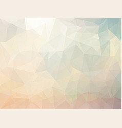 triangle abstract background vector image
