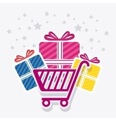 Shopping special offer and disocunts vector image