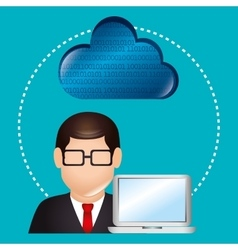 Cloud computing and hosting vector