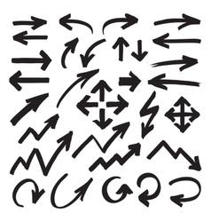 Marker Arrows Symbols vector image vector image