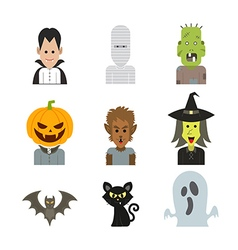 icon halloween vector image
