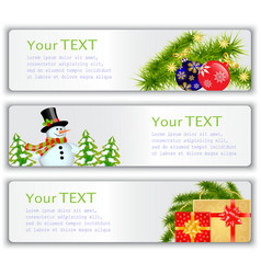 New years visit card vector