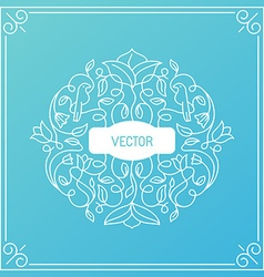 Wedding invitation or greeting card design vector