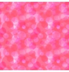 Pink bokeh abstract pattern vector image