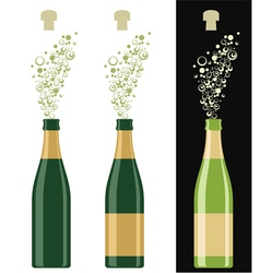 Champagne vector