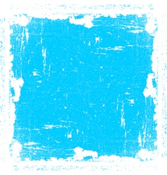 Cyan textured frame vector