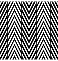 Abstract black and white herringbone seamless pa vector
