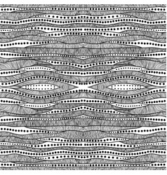 abstract seamless doodle background vector image