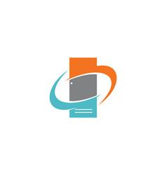 locker solutions supplier vector image vector image