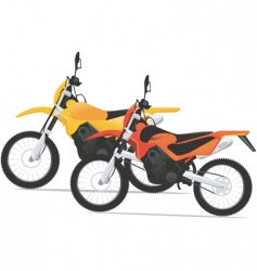motor sports vector image