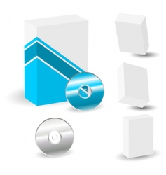 software boxes vector image vector image