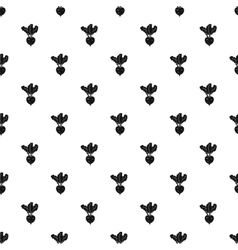Turnip pattern simple style vector