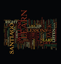 Listen learn and earn text background word cloud vector
