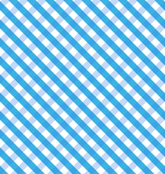 Blue Gingham vector image vector image
