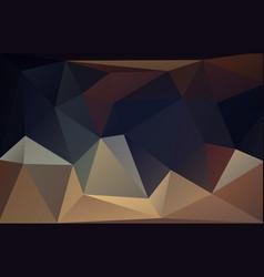 Low polygonal dark pastel background vector