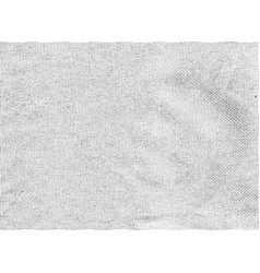 monochrome fabric retro texture vector image