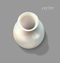 White vase vector
