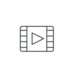 Video frame movie film cinema media player vector
