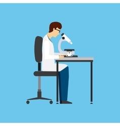 Biology science design vector