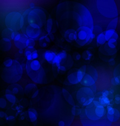 Abstract bule nigth background vector image