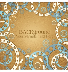 abstract vintage background vector image vector image