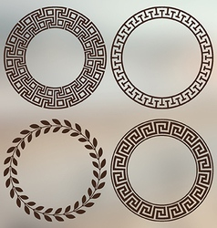 Greek art vector