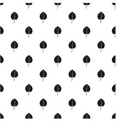 Linden leaf pattern vector