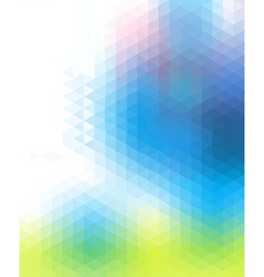 Motley colored polygonal background consist of vector