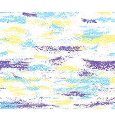 Pattern of colorful brush strokes vector image vector image