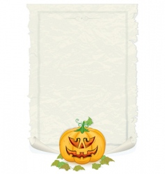 Halloween template vector