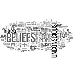Are you trapped by old beliefs text word cloud vector