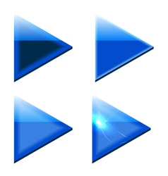 Blue Arrows vector image vector image
