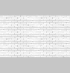 Brick wall white texture seamless pattern vector