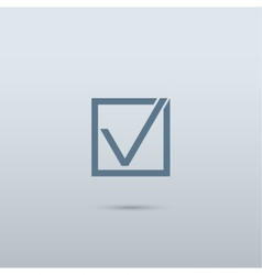 Check mark symbol vector