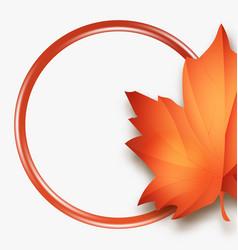 hello autumn sales fall leaves season sale vector image vector image