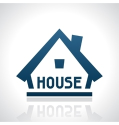 House logo template real estate design concept vector