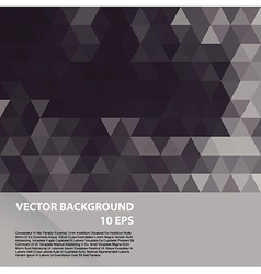 Geometric colorful pattern background vector