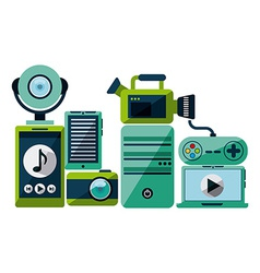 Gadgets icon vector