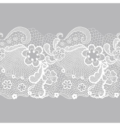 Lacy vintage trim vector