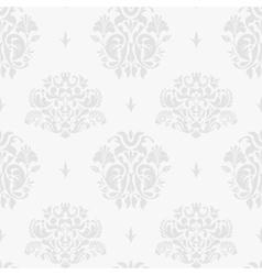 Vintage silver background vector image