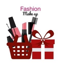 Fashion make up vector