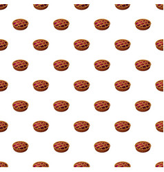 Pie pattern vector