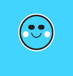 symbol person smile vector image